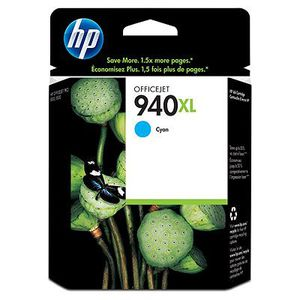 HP Чернильный картридж HP 940XL Cyan Officejet Ink Cartridge (C4907AE)